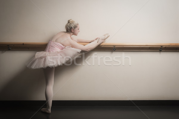 美しい バレリーナ アップ ダンス スタジオ バレエ ストックフォト © wavebreak_media