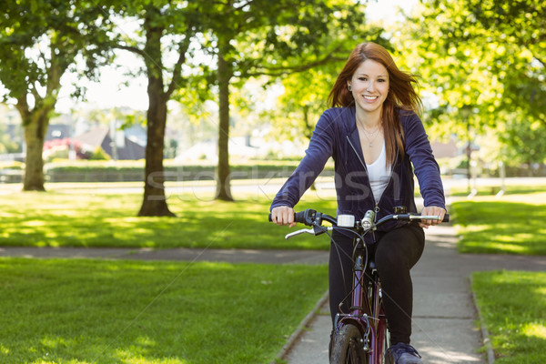 Dość rowerowe rowerów zdrowia Zdjęcia stock © wavebreak_media