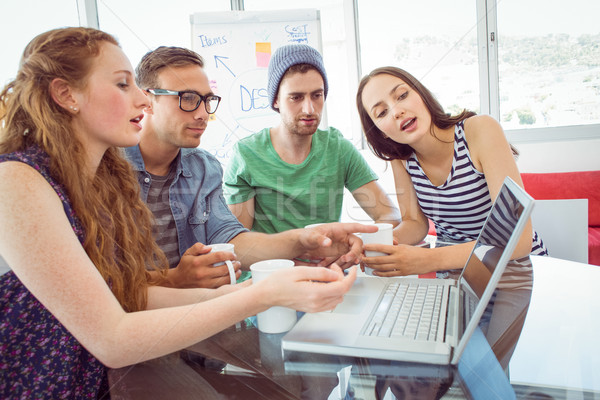 моде студентов рабочих команда колледжей женщину Сток-фото © wavebreak_media