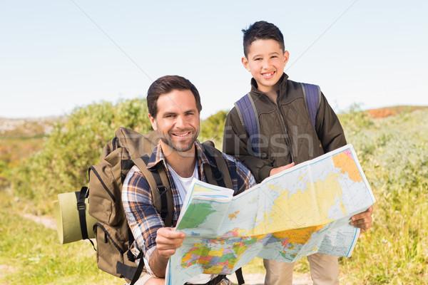 отцом сына поход вместе любви человека Сток-фото © wavebreak_media