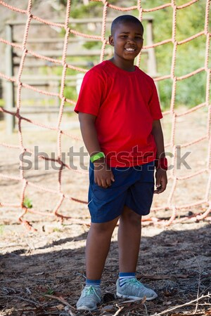 мальчика Постоянный рук бедро подготовки Сток-фото © wavebreak_media