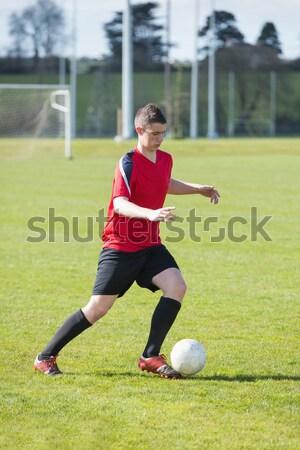 Futbol futbol zemin çim Stok fotoğraf © wavebreak_media