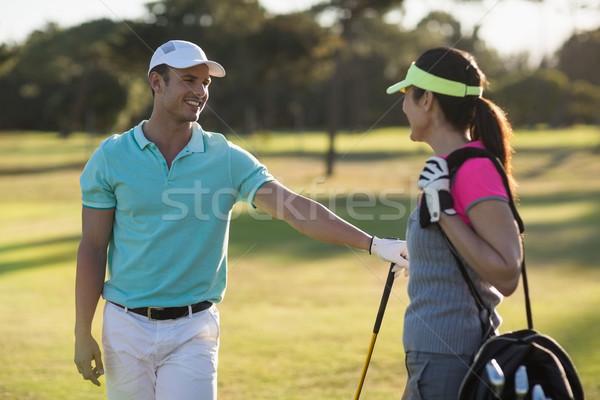 счастливым пару Постоянный области человека Сток-фото © wavebreak_media