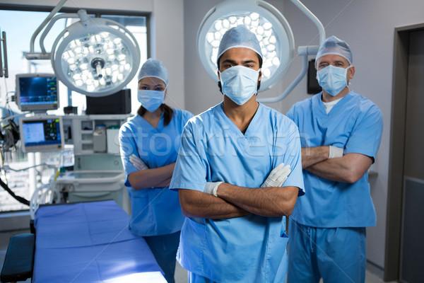 Portre cerrah ayakta operasyon oda Stok fotoğraf © wavebreak_media