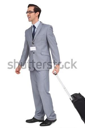 肖像 カリスマ的な ビジネスマン 立って カメラ ビジネス ストックフォト © wavebreak_media