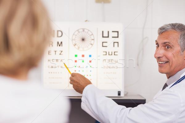 врач пациент больницу комнату Сток-фото © wavebreak_media