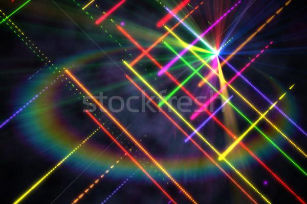 Dijital oluşturulan disko lazer serin renkler Stok fotoğraf © wavebreak_media