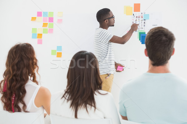 бизнесмен коллеги служба заседание группа Сток-фото © wavebreak_media