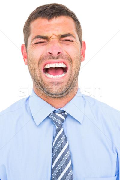 Businessman screaming  Stock photo © wavebreak_media
