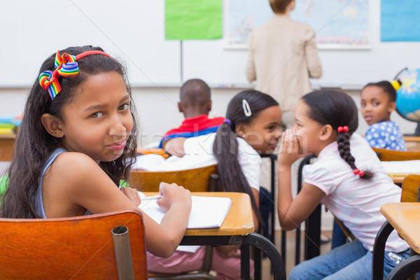 Naughty pupils in class  Stock photo © wavebreak_media
