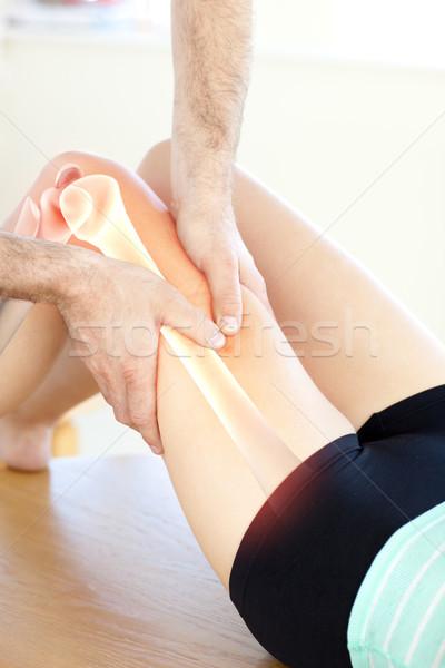 骨 女性 デジタル複合 男 医師 医療 ストックフォト © wavebreak_media