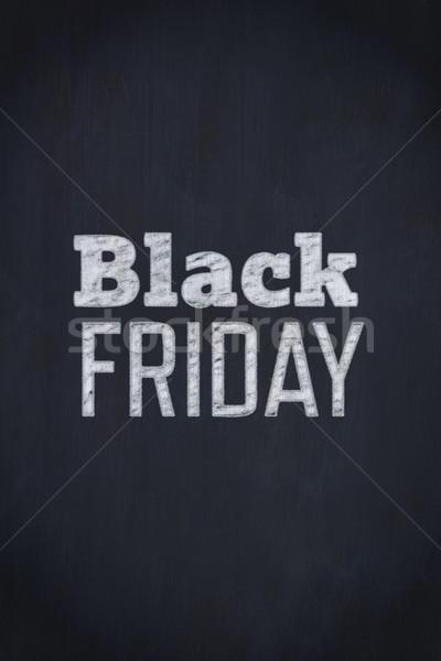 Black friday hirdetés fekete Stock fotó © wavebreak_media