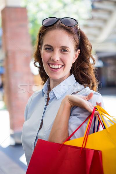 きれいな女性 幸せ ショッピング 女性 ストックフォト © wavebreak_media