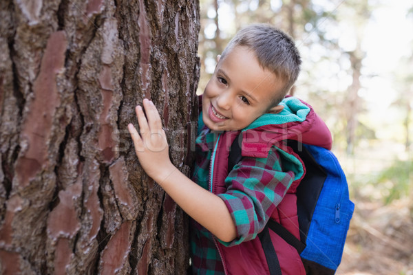портрет дерево лес трава Сток-фото © wavebreak_media