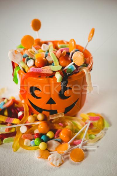 Emmer zoet voedsel halloween Stockfoto © wavebreak_media