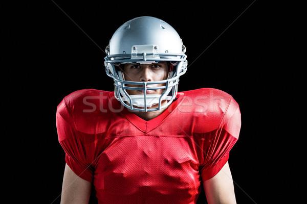 портрет спортсмен играет американский футбола черный Сток-фото © wavebreak_media