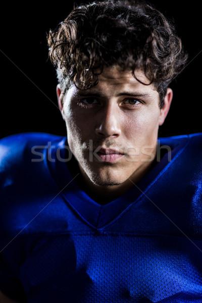 Retrato determinado preto esportes Foto stock © wavebreak_media