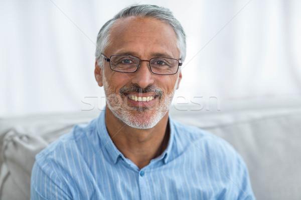 Médico sorridente retrato casa serviço Foto stock © wavebreak_media