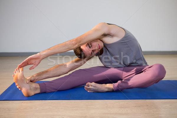 Man performing yoga Stock photo © wavebreak_media