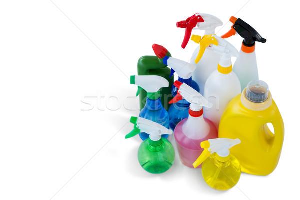 View pulizia liquido colorato spray Foto d'archivio © wavebreak_media