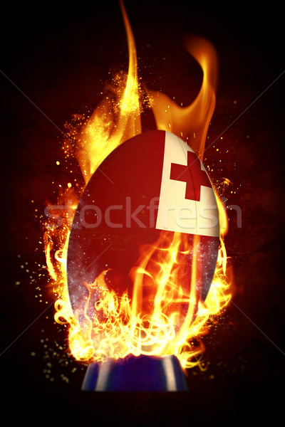 Composite image of tonga rugby ball Stock photo © wavebreak_media