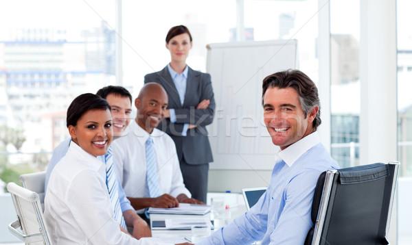 Business group showing diversity Stock photo © wavebreak_media
