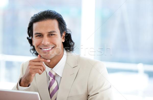Portrait positif affaires bureau heureux exécutif Photo stock © wavebreak_media