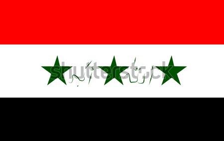 Flag of Iraq Stock photo © wavebreak_media