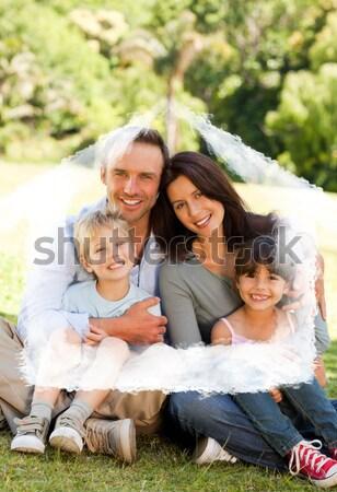 家族 キャンプ 公園 自然 カップル 緑 ストックフォト © wavebreak_media