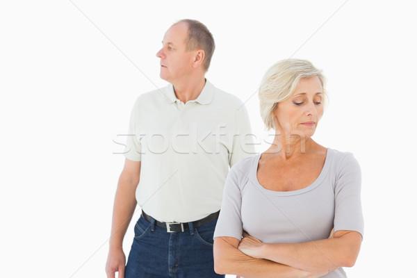 Older couple having an argument Stock photo © wavebreak_media