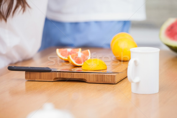 Gezonde ontbijt home keuken Stockfoto © wavebreak_media