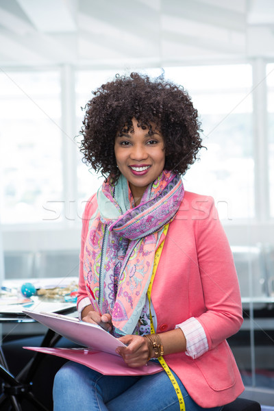 Confident female fashion designer Stock photo © wavebreak_media