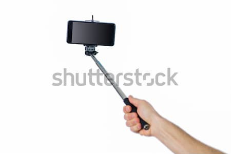 Stockfoto: Vrouw · shot · studio · arm