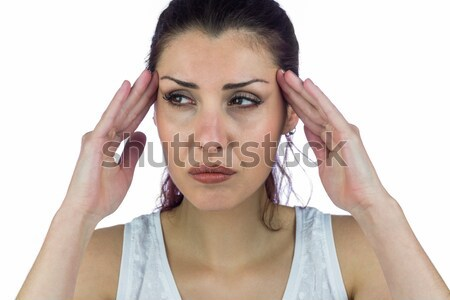 Brunette suffering from migraine  Stock photo © wavebreak_media