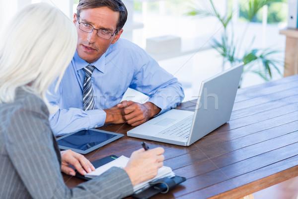 深刻 ビジネスの方々  オフィス 男 技術 ストックフォト © wavebreak_media