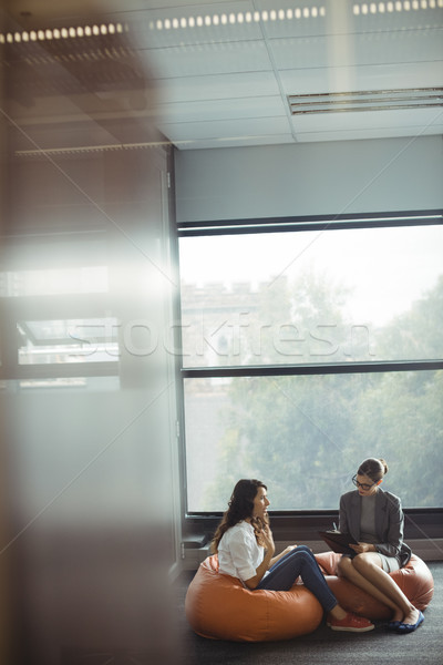 Unhappy woman consulting counselor Stock photo © wavebreak_media