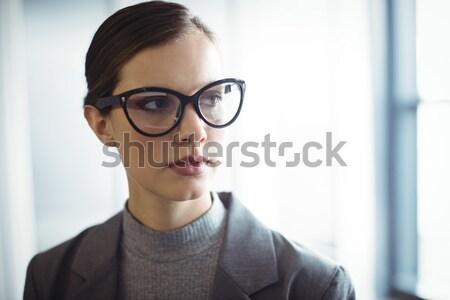 カウンセラー 眼鏡 オフィス ビジネス 女性 ストックフォト © wavebreak_media