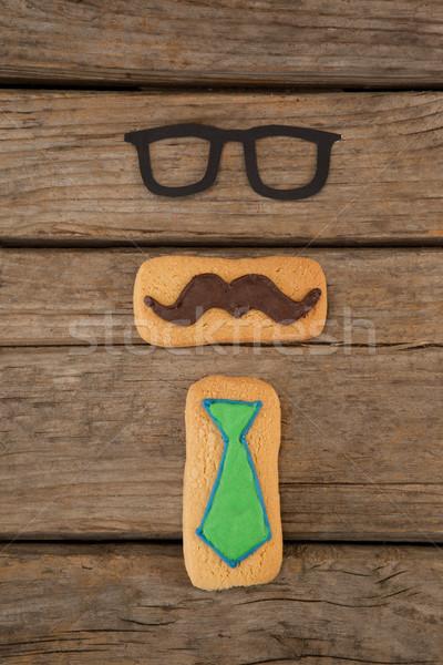 Twórczej cookie okulary deska Zdjęcia stock © wavebreak_media