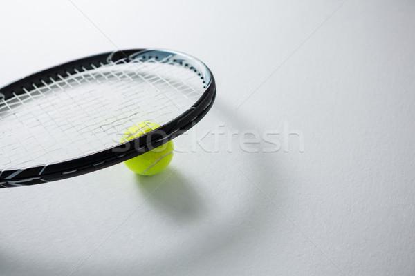 изображение ракетка теннисный мяч белый бизнеса спорт Сток-фото © wavebreak_media