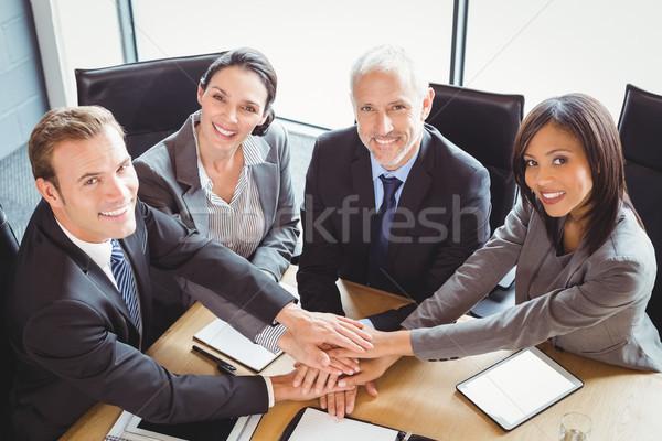 Ręce sala konferencyjna biuro działalności kobieta Zdjęcia stock © wavebreak_media