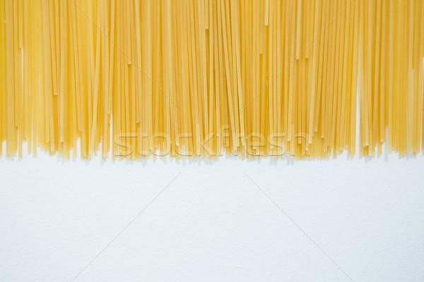 спагетти пасты белый образование шаблон отпуск Сток-фото © wavebreak_media