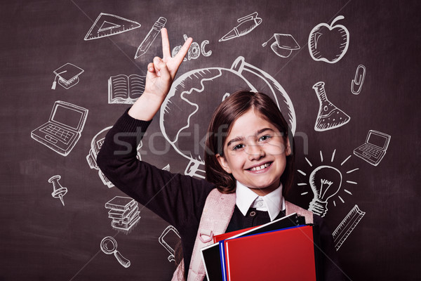 Composite image of education doodles Stock photo © wavebreak_media