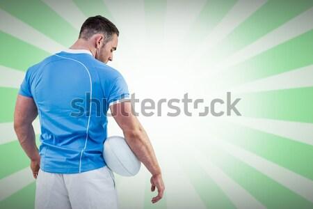 Görüntü rugby oyuncu Stok fotoğraf © wavebreak_media