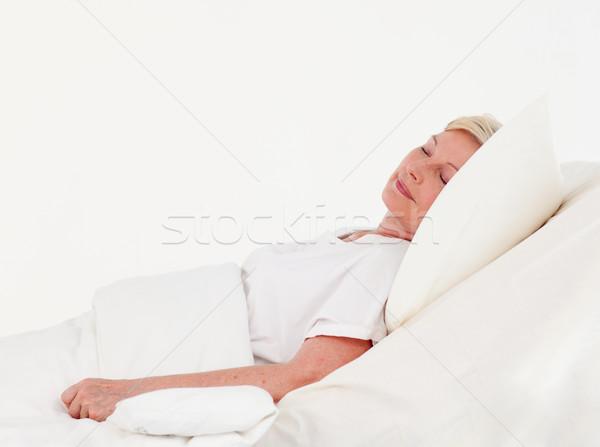 öregasszony kórház fehér orvosi egészség gyógyszer Stock fotó © wavebreak_media