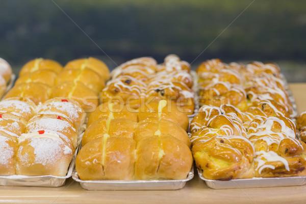 Apresentação pão prato comida compras Foto stock © wavebreak_media