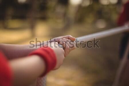 Manos nino guerra arranque Foto stock © wavebreak_media