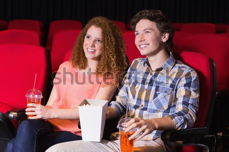 Mid-section actors reading their scripts on stage in theatre Stock photo © wavebreak_media