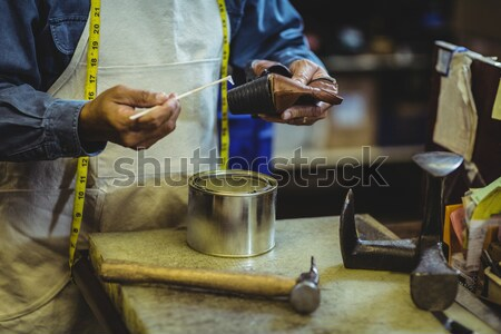 Girl decorating painting bowl Stock photo © wavebreak_media