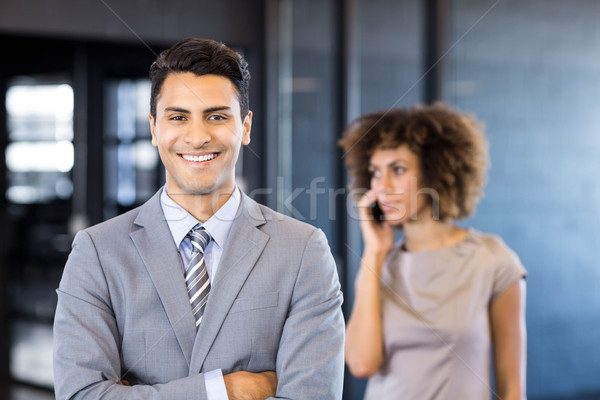 Good looking businessman posing Stock photo © wavebreak_media