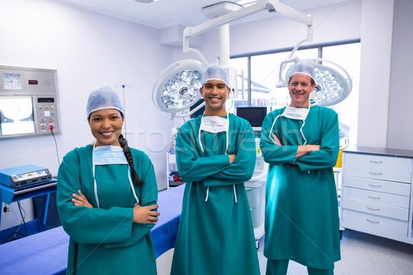 Portrait of surgeons team in operation theater Stock photo © wavebreak_media